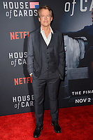 "LOS ANGELES, CA. October 22, 2018: Greg Kinnear at the season 6 premiere for ""House of Cards"" at the Directors Guild Theatre.<br /> Picture: Paul Smith/Featureflash"