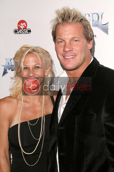 Chris Jericho and wife Jessica<br />at the Los Angeles Premiere of 'Anvil! The Story of Anvil'. The Egyptian Theatre, Hollywood, CA. 04-07-09<br />Dave Edwards/DailyCeleb.com 818-249-4998