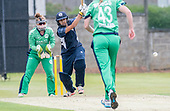 Scotland V Ireland - Women's Cricket International - Priyanaz Chatterji makes runs - picture by Donald MacLeod - 01.08.2017 - 07702 319 738 - clanmacleod@btinternet.com - www.donald-macleod.com