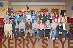 Tomás Brosnan, Cordal seated centre who celebrated his 21st birthday with his family and friends in the Crown Hotel Castleisland on Saturday night.