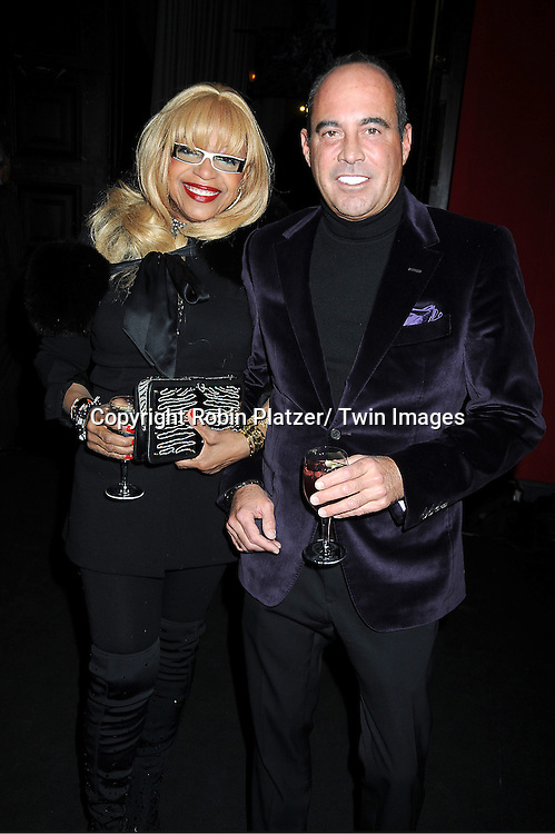 Barbara Kendrew and Tony Scardino attends the 58th Annual Winter Antiques Show Opening Night party on January 19, 2012 at the Park Avenue Armory in New York City. The show benefits The East Side House Settlement.