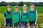 At the Juvenile cross country in Currow were Spa- Fenit Burrow Mark Gazzie, Orhan Murphy, Oisin McGibney, Cian O'Gara