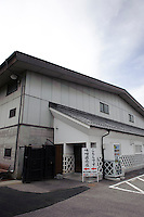 Entrance to Ishii Miso, Matsumoto, Japan, May 19, 2009. The miso company, founded in 1868, uses Japanese soy beans and wooden barrels to make premium miso aged for up to three years.