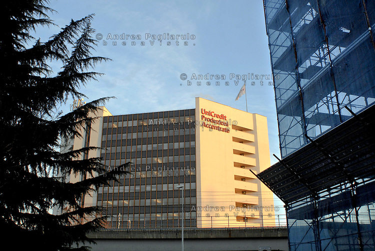 Cologno Monzese (MI), sede centrale Unicredit. <br />