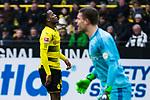 10.02.2018, Signal Iduna Park, Dortmund, GER, 1.FBL, Borussia Dortmund vs Hamburger SV, <br /> <br /> im Bild | picture shows:<br /> Michy Batshuayi (Borussia Dortmund #44) entt&auml;uscht nach vergebener Chance, <br /> <br /> <br /> Foto &copy; nordphoto / Rauch