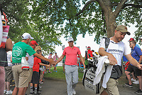 Alex Noren (SWE) heads to the 10th tee during Saturday's round 3 of the World Golf Championships - Bridgestone Invitational, at the Firestone Country Club, Akron, Ohio. 8/5/2017.<br /> Picture: Golffile | Ken Murray<br /> <br /> <br /> All photo usage must carry mandatory copyright credit (&copy; Golffile | Ken Murray)