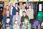 GET-TOGETHER: A group of friends who headed to New York last year enjoying a.reunion at Austin Stacks GAA Club, Connolly Park, Tralee, on St Patricks Day - and.planning another trip for next year. Pictured are Lorraine and Saoirse O'Toole, Cian Cody,.Terry Healy, Mary O'Toole, Maurice Reidy, Michael and Kit O'Brien, Christine Rigney,.Louise Arnull, Tim and Terese Collins and Anne Pullen.