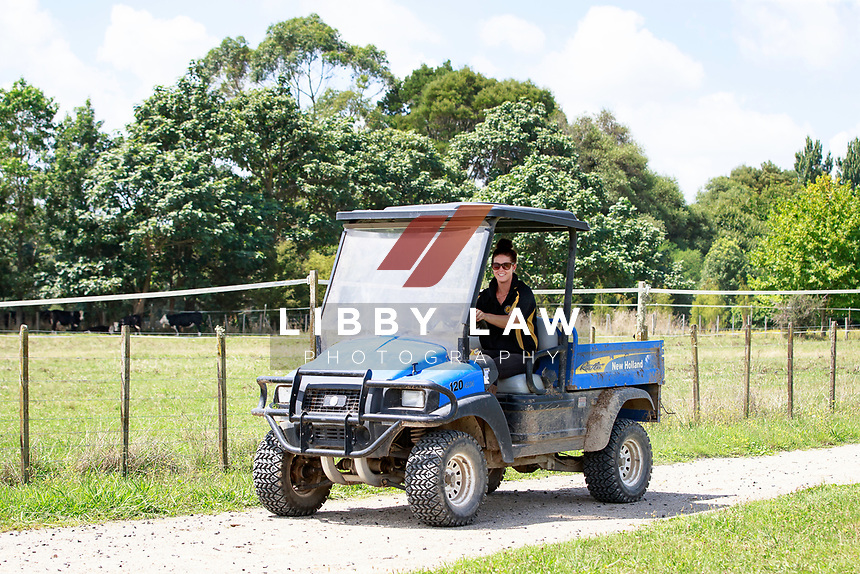 2017 YARD SHOOT: Clarke Johnstone at home. Matangi, Waikato. Photo Credit: Libby Law Photography