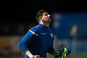 29th January 2019, Palmerston Park, Dumfries, Scotland; Scottish Cup football, 4th round replay, Queen of the South versus Dundee; Alan Martin of Queen of the South during the warm up before the match