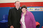 Fr. Martin Kenny with Maria Carton at his retirement party in Mell NS...Photo NEWSFILE/Jenny Matthews.(Photo credit should read Jenny Matthews/NEWSFILE)....This Picture has been sent you under the condtions enclosed by:.Newsfile Ltd..The Studio,.Millmount Abbey,.Drogheda,.Co Meath..Ireland..Tel: +353(0)41-9871240.Fax: +353(0)41-9871260.GSM: +353(0)86-2500958.email: pictures@newsfile.ie.www.newsfile.ie.FTP: 193.120.102.198.