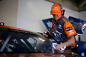 Monster Energy NASCAR Cup Series<br /> Daytona 500<br /> Daytona International Speedway, Daytona Beach, FL USA<br /> Saturday 17 February 2018<br /> Daniel Suarez, Joe Gibbs Racing, ARRIS Toyota Camry crew man<br /> World Copyright: Barry Cantrell<br /> LAT Images