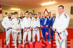 Francis Galvin achieved black belt in Brazilian Jiu Jitsu in London Pictured with members of Gracie Barra Gym on Friday were  Eric Hanafin, Alvas Ballam, Tom Patten and Stuart Dollard.   Mick Loughlin, James O'Brien, Bobby Loughlin, Shane Galvin, Armond Ballams and Gary Coffey.