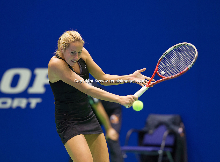 Rotterdam, Netherlands, December 17, 2015,  Topsport Centrum, Lotto NK Tennis, Chayenne Ewijk (NED)<br /> Photo: Tennisimages/Henk Koster