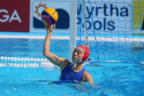 Rikako Miura (JPN), <br /> JULY 28, 2015 - Water Polo :<br /> 16th FINA World Championships Kazan 2015<br /> Men's Preliminary Round<br /> match between Brazil 11-8 Japan<br /> at Water Polo Arena in Kazan, Russia.<br /> (Photo by Yohei Osada/AFLO SPORT)
