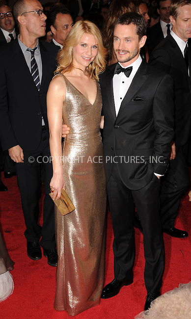 WWW.ACEPIXS.COM . . . . . ....May 2 2011, New York City....Claire Danes and Hugh Dancy arriving at the 'Alexander McQueen: Savage Beauty' Costume Institute Gala at The Metropolitan Museum of Art on May 2, 2011 in New York City. ....Please byline: KRISTIN CALLAHAN - ACEPIXS.COM.. . . . . . ..Ace Pictures, Inc:  ..(212) 243-8787 or (646) 679 0430..e-mail: picturedesk@acepixs.com..web: http://www.acepixs.com