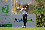 Rikard Karlberg (SWE) tees off on the 7th hole during Day 2 Friday of the Open de Andalucia de Golf at Parador Golf Club Malaga 25th March 2011. (Photo Eoin Clarke/Golffile 2011)