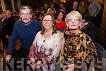 Enjoying Sharon Shannon in concert at O'Riada's bar on Friday were Denis Reidy Marie O'Brien and Martina Reidy