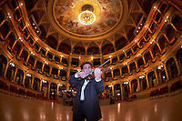 0802020560c Dress rehearsal of the 13th Budapest Opera Ball held at Opera House involving 50 couples of debutantes performing the opening waltz. Budapest, Hungary. Saturday, 02. February 2008. ATTILA VOLGYI