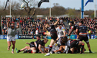 Richard Wigglesworth of Saracens in action during the Aviva Premiership match between Saracens and Bath Rugby at Allianz Park, Hendon, England on 26 March 2017. Photo by Stewart  Wright  / PRiME Media Images.