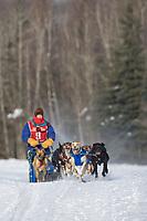Deb McGrath, 2007 Limited North American Championship Sled dog race in Fairbanks, Alaska.