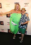 "Bridget Everett and Murray Hill attend the Off-Broadway Opening Night of ""Jacqueline Novak: Get On Your Knees"" at the Cherry Lane Theatre on July 22, 2019 in New York City."