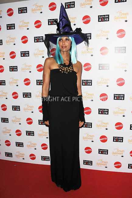 WWW.ACEPIXS.COM . . . . . .October 21, 2012...New York City....Author and Televison host Padma Lakshmi attends 11th Annual Dream Halloween at Hard Rock Cafe, Times Square on October 21, 2012 in New York City ....Please byline: KRISTIN CALLAHAN - ACEPIXS.COM.. . . . . . ..Ace Pictures, Inc: ..tel: (212) 243 8787 or (646) 769 0430..e-mail: info@acepixs.com..web: http://www.acepixs.com .