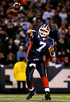 18 November 2007: Buffalo Bills quarterback J.P. Losman in action against the New England Patriots at Ralph Wilson Stadium in Orchard Park, NY. The Patriots defeated the Bills 56-10 in their second meeting of the season...Mandatory Photo Credit: Ed Wolfstein Photo