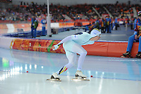 OLYMPICS: SOCHI: Adler Arena, 18-02-2014, Men's 10.000m, Bart Swings (BEL), ©photo Martin de Jong