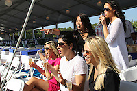 Yumi Matsuo, Elizabeth Kennedy, Carli Roth, Laura Eurdolian and Steph Jensen attend The Hampton Classic 2014 on Aug. 27, 2014 (Photo by Taylor Donohue / Guest of a Guest)
