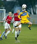 Barry Town v Arsenal Ladies