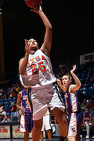 SAN ANTONIO, TX - JANUARY 21, 2006: The Stephen F. Austin State University Ladyjacks vs. The University of Texas at San Antonio Roadrunners Women's Basketball at the UTSA Convocation Center. (Photo by Jeff Huehn)
