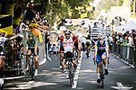 Caleb Ewan (AUS) Lotto-Soudal wins Stage 11 of the 2019 Tour de France running 167km from Albi to Toulouse, France. 17th July 2019.<br /> Picture: ASO/Pauline Ballet | Cyclefile<br /> All photos usage must carry mandatory copyright credit (© Cyclefile | ASO/Pauline Ballet)
