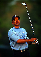 Tiger Woods in action at the Bay Hill Invitational at Arnold Palmer's Bay Hill Club & Lodge in Orlando, FL in March 2003. (Photo by Brian Cleary / www.bcpix.com)