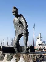 De Tobbedanser Rotary in de haven van Harlingen
