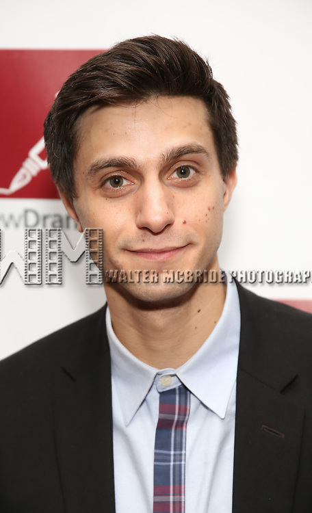 Gideon Glick attends The New Dramatists' 68th Annual Spring Luncheon at the Marriott Marquis on May 16, 2017 in New York City.