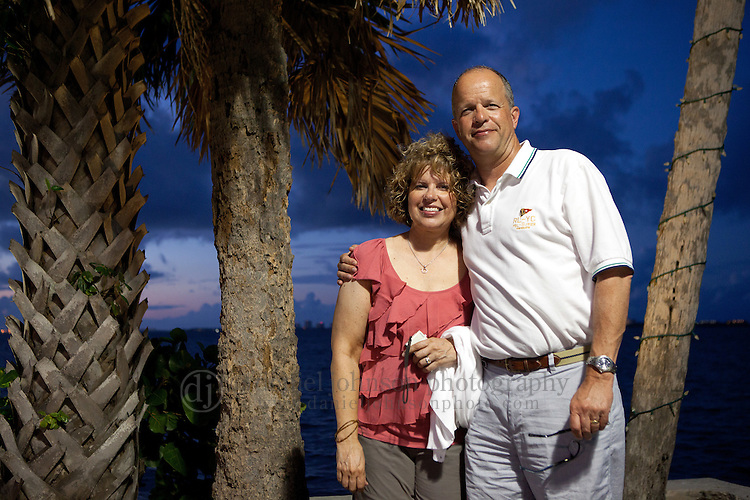 Kreutter Johnson family gathers for vacation in Stuart, Florida in mid July 2011. Picture by Rebecca S. Gratz