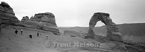 at Delicate Arch<br />