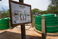 Africa, Botswana, Kasane, Chobe Game Lodge, Chobe National Park, bio gas plant.
