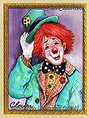 Alfredo, CHILDREN, KINDER, NIÑOS, paintings+++++,BRTOXX05712CP,#k#, EVERYDAY ,clowns