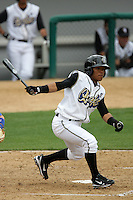 April 11, 2010: Alexi Amarista of the Rancho Cucamonga Quakes during game against the Inland Empire 66'ers at The Epicenter in Rancho Cucamonga,CA.  Photo by Larry Goren/Four Seam Images