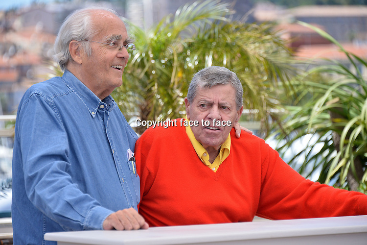 "........Credit: Timm/face to face..Bruce Dern (Actor) and Jerry Lewis (Actor) attending the ""MAX ROSE"" Photocall during the 66th annual International Cannes Film Festival in Cannes, France, 23th May 2013."