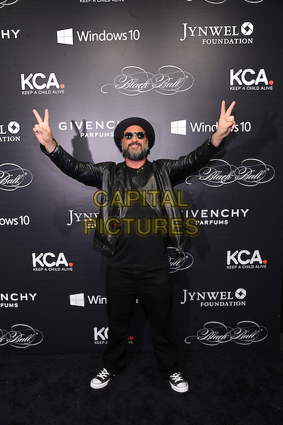 NEW YORK, NY - NOVEMBER 05: Mr. Brainwash attends the 2015 'Keep A Child Alive' Black Ball at Hammerstein Ballroom on November 5, 2015 in New York City.<br /> CAP/MPI/STV<br /> &copy;STV/MPI/Capital Pictures