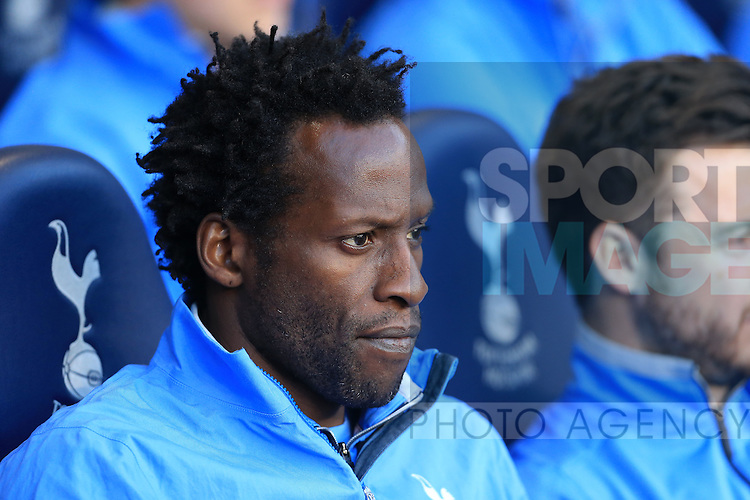 Tottenham's Ugo Ehiogu looks on during the U21 Premier League match at the White Hart Lane Stadium.  Photo credit should read: David Klein/Sportimage