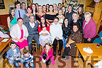 Parents Margaret O'Donoghue and Peter Donovan celebrate the christening of baby Mia at St. John's Church Tralee by  Fr Piotr Delimat on Saturday with a party for family and friends at Stokers Lodge