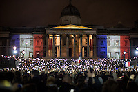 14.11.2015 - London‬'s Vigils for the Victims of the Paris Terrorist Attacks
