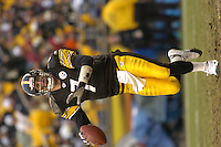 28 November 2004:   Ben Roethlisberger.<br />