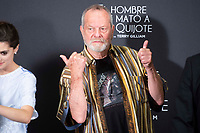 British director Terry Gilliam  attends to presentation of 'El hombre que mato a Don Quijote' (The man who killed Don Quixote) at NH Eurobuilding Hotel in Madrid, Spain. May 29, 2018. (ALTERPHOTOS/Borja B.Hojas) /NortePhoto.com