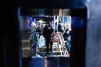 People carrying shopping bags during Black friday promotions in New York.  10.28.2014. Eduardo Munoz Alvarez/VIEWpress