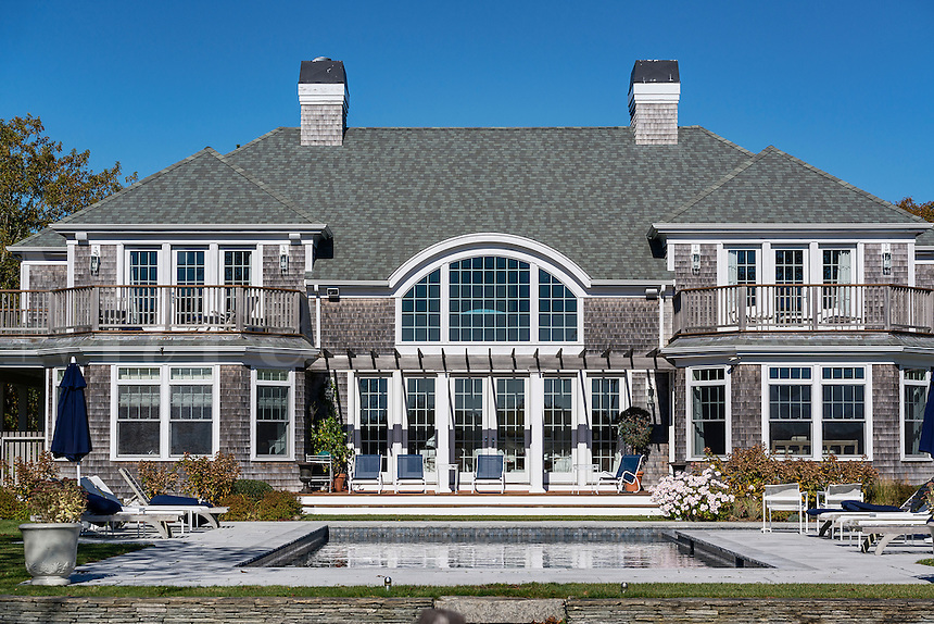 Beautiful home with pool, West Tisbury, Martha's Vineyard, Massachusetts, USA