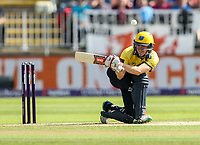 Birmingham Bears' Ed Pollock  defending<br /> <br /> Photographer Andrew Kearns/CameraSport<br /> <br /> NatWest T20 Blast Semi-Final - Birmingham Bears v Glamorgan - Saturday 2nd September 2017 - Edgbaston, Birmingham<br /> <br /> World Copyright &copy; 2017 CameraSport. All rights reserved. 43 Linden Ave. Countesthorpe. Leicester. England. LE8 5PG - Tel: +44 (0) 116 277 4147 - admin@camerasport.com - www.camerasport.com